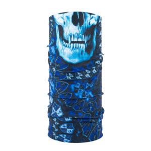 Stealth Tech - Blauw - Schedel