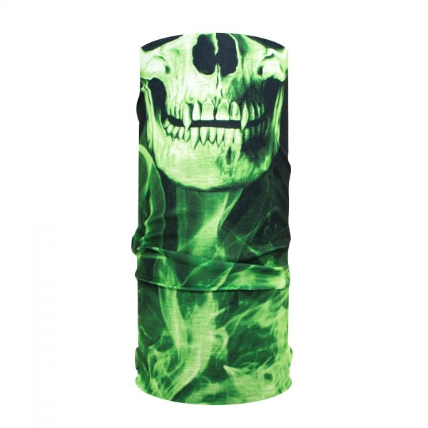 Skull Tech - Groen