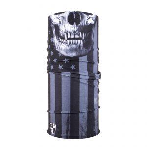 Verenigde Staten - Zwart - Schedel