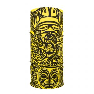 Polynesische Tribal - Yellow